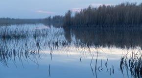 красивейший восход солнца озера Стоковые Фотографии RF