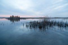 красивейший восход солнца озера Стоковые Фото