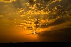 красивейший восход солнца стоковая фотография
