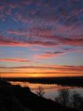 красивейший восход солнца Стоковое Изображение