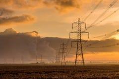 Мощный восход солнца стоковое фото