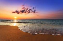 красивейший восход солнца тропический Стоковое Фото