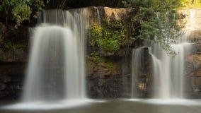 Красивейший водопад в Таиланде Стоковое фото RF
