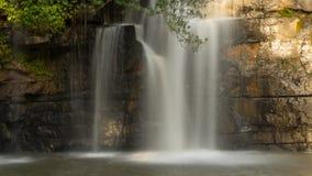 Красивейший водопад в Таиланде Стоковое Изображение