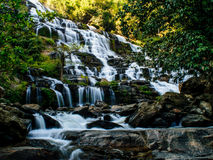 красивейший водопад каскада Стоковая Фотография