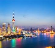 красивейший выравниваясь shanghai Стоковое фото RF