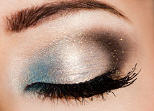 красивейший глаз womanish Стоковое Изображение RF