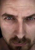 красивейший глубокий человек глаз Стоковые Фото