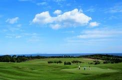 красивейший гольф курса Стоковая Фотография