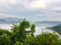 красивейший горный вид Стоковые Изображения