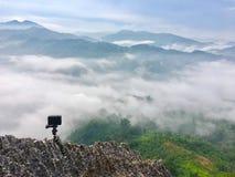 красивейший горный вид Стоковые Фото