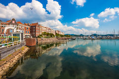 красивейший городок Стоковое фото RF