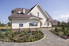 красивейший деревенский дом Стоковые Изображения RF
