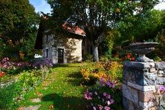 красивейший деревенский дом Стоковая Фотография