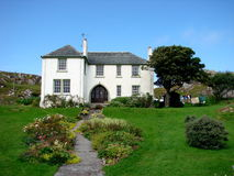 красивейший деревенский дом Стоковое фото RF