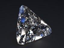 Красивейший диамант представляет Стоковая Фотография