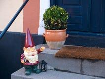 красивейший дом праздника входа рождества Стоковое Изображение