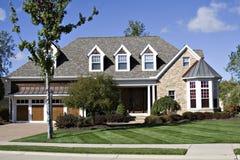 красивейший дом Стоковые Фото