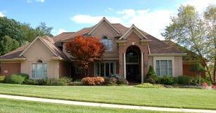 красивейший дом 2 Стоковые Фотографии RF
