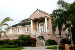 красивейший дом стоковые фотографии rf