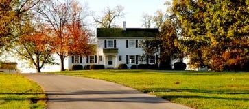 красивейший дом Стоковое Изображение RF
