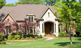 красивейший дом Стоковое Изображение