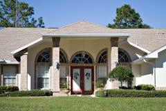 красивейший дом florida Стоковая Фотография