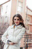 красивейший девушки портрет outdoors Стоковая Фотография