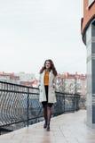красивейший девушки портрет outdoors Стоковые Фото