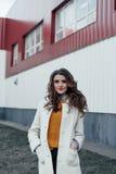 красивейший девушки портрет outdoors Стоковое Фото