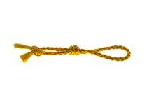 красивейший желтый цвет шнура стоковая фотография