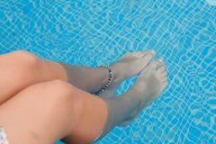 красивейший женский бассеин ног Стоковые Изображения