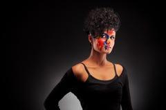красивейший женский индийский портрет Стоковые Изображения RF