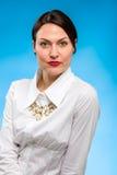 красивейший женский модельный портрет Стоковые Изображения