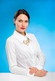 красивейший женский модельный портрет Стоковое Изображение