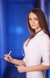 Красивейший женский доктор Стоковая Фотография