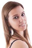 красивейший женский портрет Стоковая Фотография RF