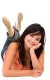 красивейший женский портрет Стоковое Изображение RF