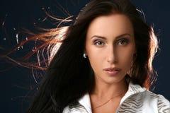 красивейший женский портрет Стоковые Изображения RF