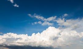 красивейший заход солнца неба 1 предпосылка заволакивает пасмурное небо Стоковые Фотографии RF