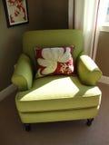 красивейший зеленый цвет стула Стоковые Изображения