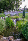 красивейший зеленый парк стоковая фотография