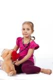 красивейший играть девушки куклы доктора Стоковая Фотография