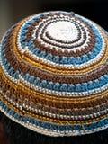 красивейший израильский yarmulke Стоковые Изображения