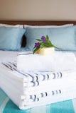 красивейший интерьер спальни стоковое фото