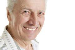 красивейший кавказский человек старый Стоковое Изображение