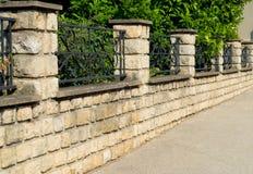 красивейший камень загородки Стоковое фото RF