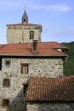 красивейший камень испанского языка pyrinees домов Стоковая Фотография RF