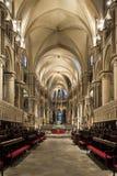 красивейший клирос cathedrall canterbury готский Стоковое Изображение RF