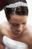 красивейший конец невесты вверх Стоковые Фотографии RF